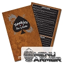 12x18, 11x17 or 8.5x14 Menu Armor Full Color Restaurant Menus